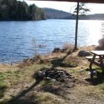 vue Lac Berval