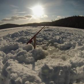 Pêche sur glace à la journée