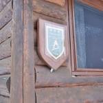 log cabin Castor