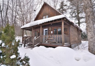 Winter fishing & luxury cabin package
