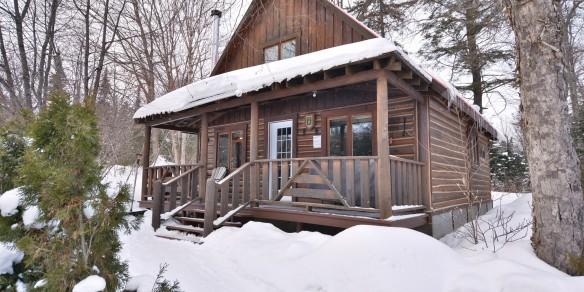 Winter fishing & luxury cabin package