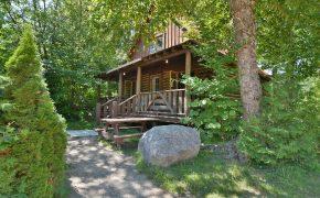 log cabin Le Champêtre