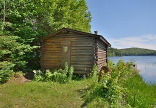 Été / Automne pêche & camp rustique