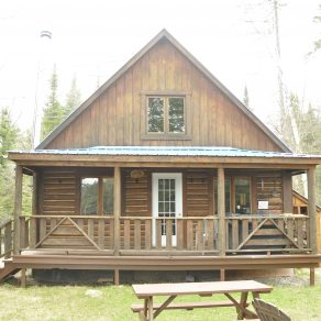 Spring fishing & luxury cabin