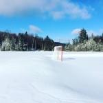 Hiver - Lac -Patinoire